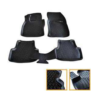 4 tapis sol caoutchouc 3d tpe sepcifique vw golf 7 sw. Black Bedroom Furniture Sets. Home Design Ideas