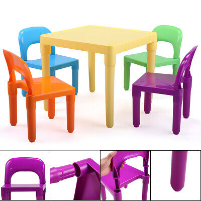 Kids Table and Chairs Play Set Child Toy Activity Furniture Indoor - Children's Activity Table