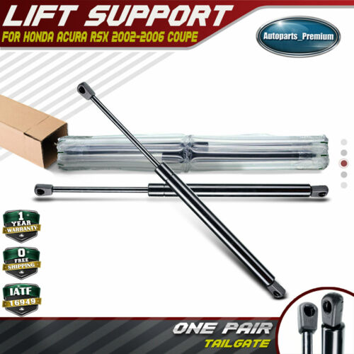 2x Rear Hatch Tailgate Lift Supports Shocks For Acura RSX
