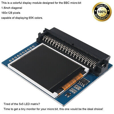Micro Bit Colorful Display Screen Module W Spi Interface 1.8 For Bbc Micro Bit