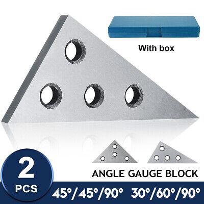 2x Manganese Steel 30456090 Angle Gauge Blocks Machinist Metalworking