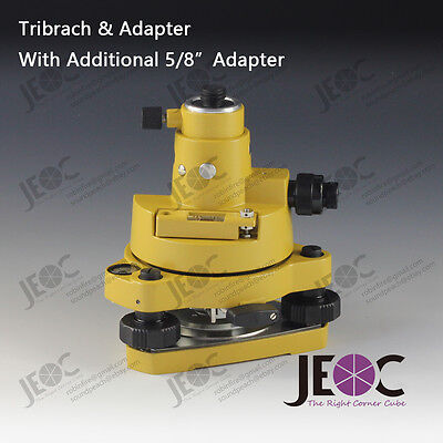 Topcon Style Tribrach Adapter With Optical Plummet Additional 58 Adapter