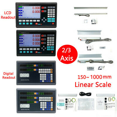2345axis Digital Readout Dro Ttl Linear Glass Scale Encoder For Milling Lathe