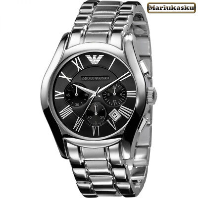 NEW EMPORIO ARMANI AR0673 Gent's Mens watch, Stainless Steel Bracelet, Free P&P