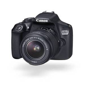 Australian Warranty - Brand New Canon 1300D including EFS 18-55mm Hornsby Hornsby Area Preview
