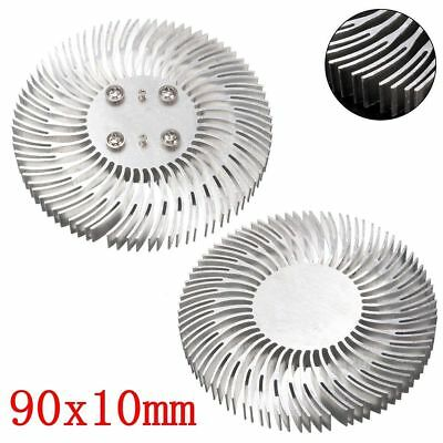 90mm X10mm Round Mountable Aluminum Heat Sink Cooling For 10w Led Heatsink A