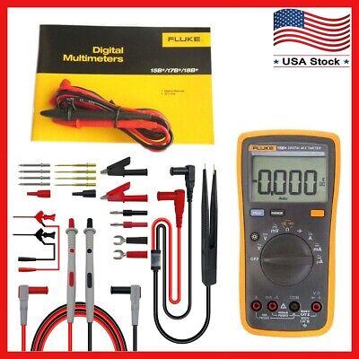 Fluke 15b F15b Digital Multimeter Meter Test Lead Kit P1503e