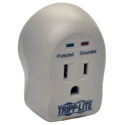 Tripp Lite SPIKECUBE Surge Protector Wallmount Direct Plug In 120V 1 Outlet 600