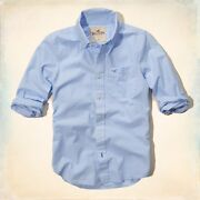 Mens Large Hollister Long Sleeve Shirt