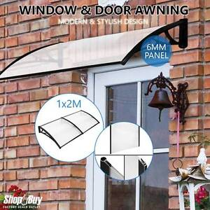 Free Delivery: DIY Window Door Awning Cover Transparent 100 x 20 Moorebank Liverpool Area Preview