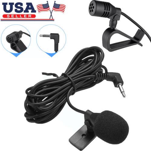 3.5mm Microphone Car Radio Stereo GPS Bluetooth Enabled Audio DVD External Mic
