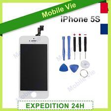 ECRAN IPHONE 5S BLANC VITRE TACTILE + LCD RETINA ORIGINAL SUR CHASSIS