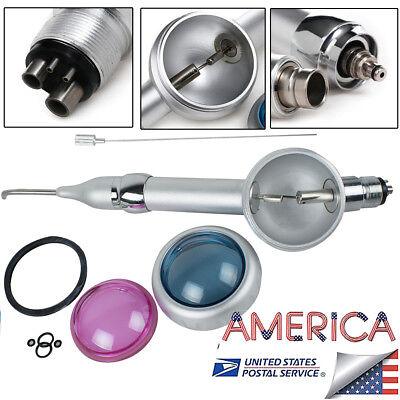 Dental Air Flow Teeth Polishing Polisher Handpiece Hygiene Prophy Jet 4 Holes H4