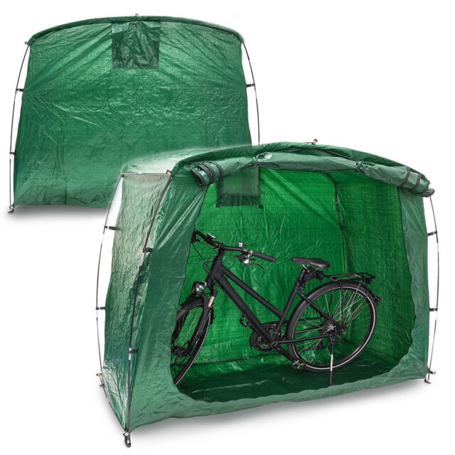 Bicycle Shelter Waterproof Bike Cover Tent Outdoor Garden Garage Shed Home  sc 1 st  eBay & Bike Tent Cave Tidy Tent All Green | eBay