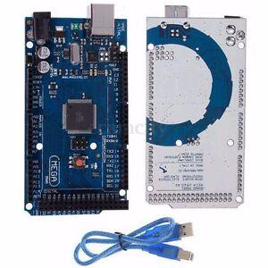 ATmega2560-R3-16AU-Microcontroller-Bordo-USB-Cavo-Per-Arduino-MEGA2560-Modulo