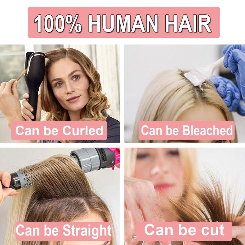Brazilian Virgin Human Short Afro Curly Classic Cap Wigs For Women Girls - $28.69