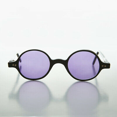 Lila Linse Runde Lesebrille Vintage Hippie Sonnenbrille - Owen