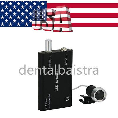Usps Dental Medical Led Head Light Rechargeable Battery Portable Headlight