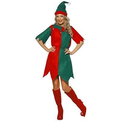 Elf Dress Costume Christmas Fancy Dress
