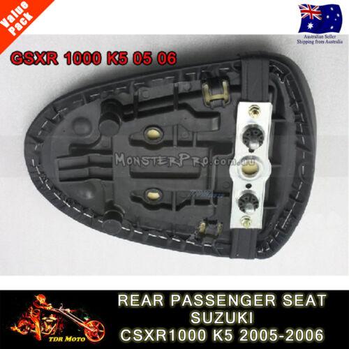 Pillion Rear Seat Cover Cowl Fit 2005 2006 Suzuki GSXR1000 GSXR 1000 K5 Carbon