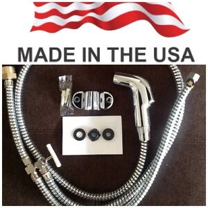 Chrome Toilet Bidet Shattaf Muslim Shower. MADE IN USA. FREE FAST SHIPPING !