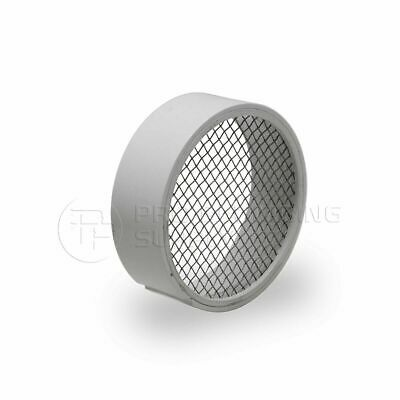Raven R1509 Pvc Termination Vent Stainless Screen W Condensation Slot - 3 Inch