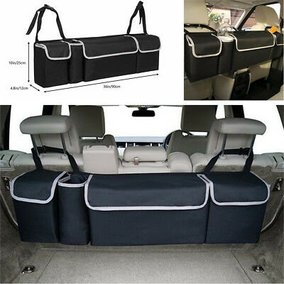 Car Trunk Organizer Auto Interior Accessories Back Seat Storage Bag Multi-use