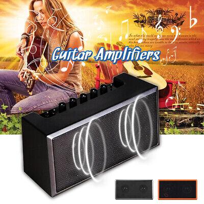 Portátil Amplificador de Guitarra Mini bluetooth Altavoz para Acústica Eléctrica