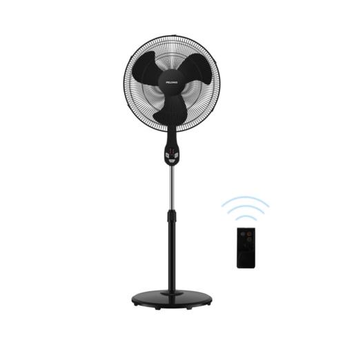 "PELONIS FS45-18UR 18"" Quiet Oscillating Pedestal Fan with LE"