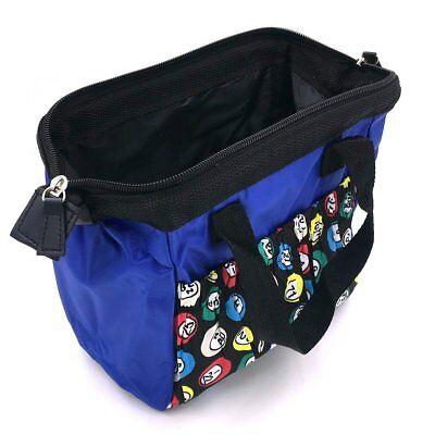 6 POCKET BINGO BAG (BLUE)