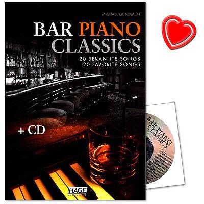 Bar Piano Classics - Notenbuch mit CD - Hage - EH3749 - 9783866261297