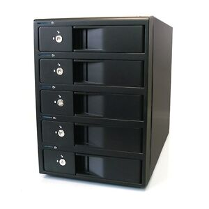5-Bay FireWire 800, eSATA, USB 3.0 RAID Enclosure for 3.5