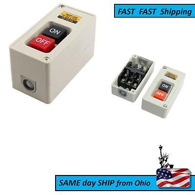 Heavy Duty Industrial Shop Switch - - - - - 3p - 3 Terminal - - -with Box