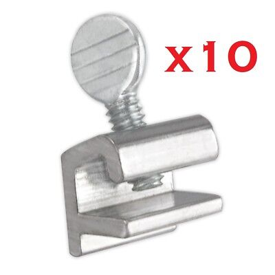 10x Sliding Window Locks Easy Installation High Security Home Lock Thumbscrews