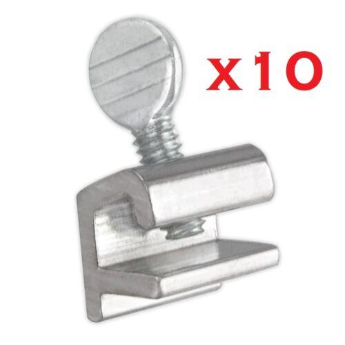 10x Sliding Window Locks Easy Installation High Security Home Lock Thumbscrews