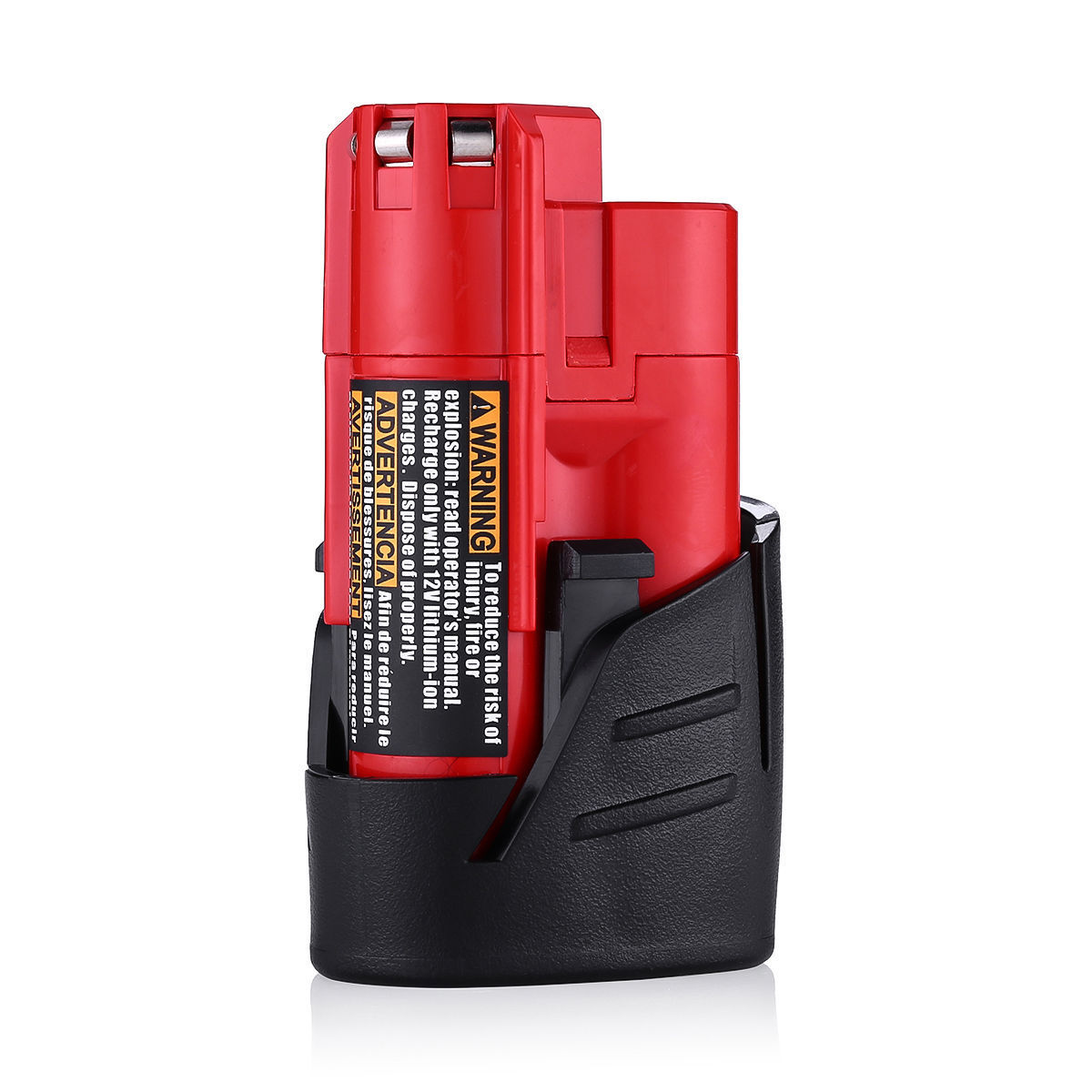 2xFor Milwaukee 48-11-2420 M12 LITHIUM Compact Battery 48-11-2402 48-11-2401 NEW 11