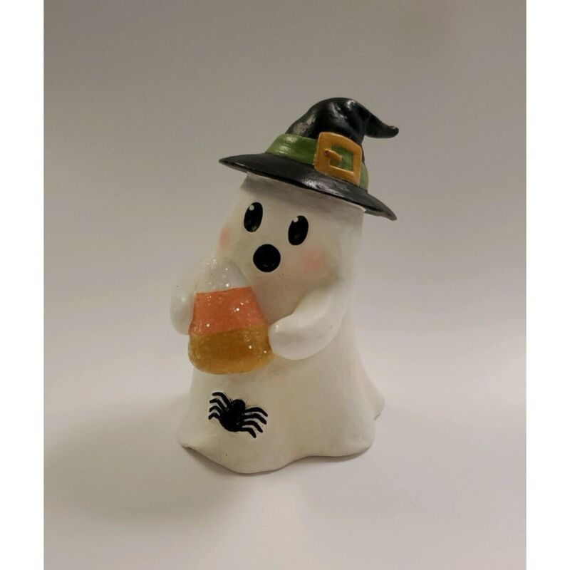Bethany Lowe Halloween Ghost Gavin with Candy Corn TL0247