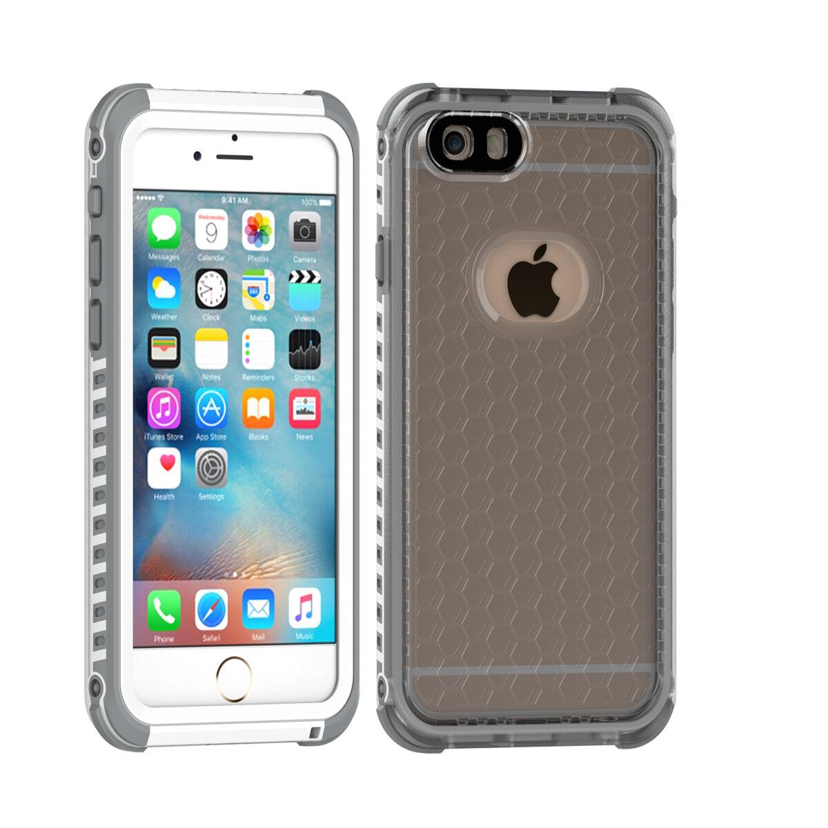 For Apple iPhone 7 6s Plus Slim Shockproof Waterproof Dirt Proof Case Full Cover