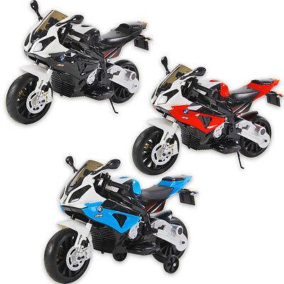 LICENSED BMW S1000RR KIDS RIDE ON 12V MOTORBIKE CHILDREN'S BATTERY BIKE CAR CARS
