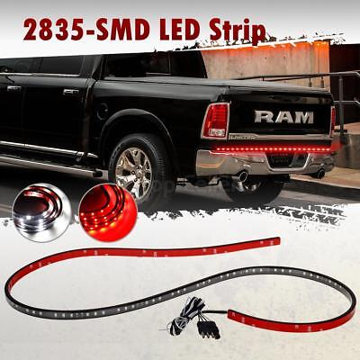 """Red/White 60"""" LED Tailgate Light Bar Reverse Brake Turn Signal Running Light"""
