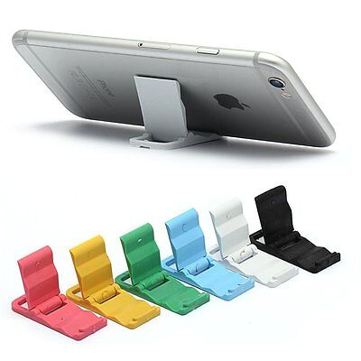 Lovely Universal Foldable Mini Cell Phone Desk Stand Holder For iPhone/ Samsung