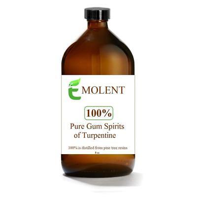 100% Pure Gum Spirits of Turpentine, 8 -