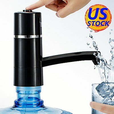 Auto Portable Wireless Electric Pump Dispenser Drinking Switch Water Bottle US