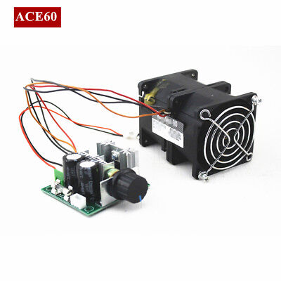 ACE60 12V Electric Turbo supercharger Boost Intake Fan With Potentiometer Covers