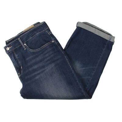 Levi's Womens Denim Mid Rise Cuffed Capri Jeans Plus BHFO 48