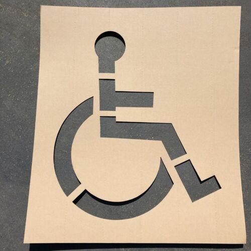 48H X 42W Cardboard Handicap Symbol Stencil