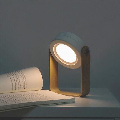 Folding Foldable LED Lantern Bedside Night Light Portable Table Desk Lamp