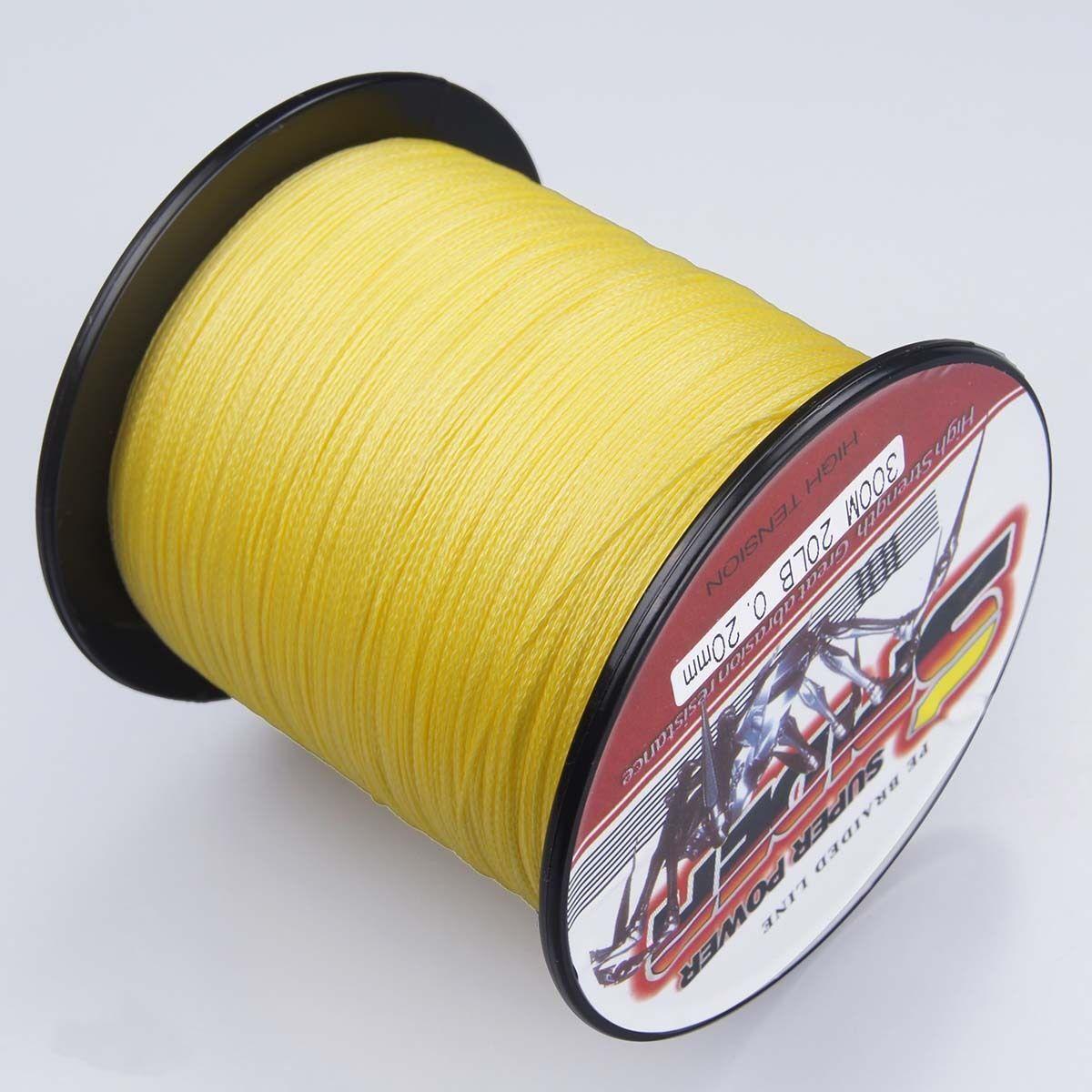 Super Dyneema 100-2000M 12-90LB Fishing Braid Carp Line Multi Colour Spod Marker