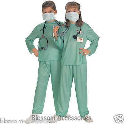 CK425 ER Doctor Hospital Medical Occupation Girls or Boys Fancy Dress Up Costume