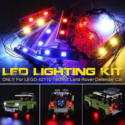 LED Light Kit ONLY For LEGO 42110 Technic Land Rover Defender Car Brick Toy